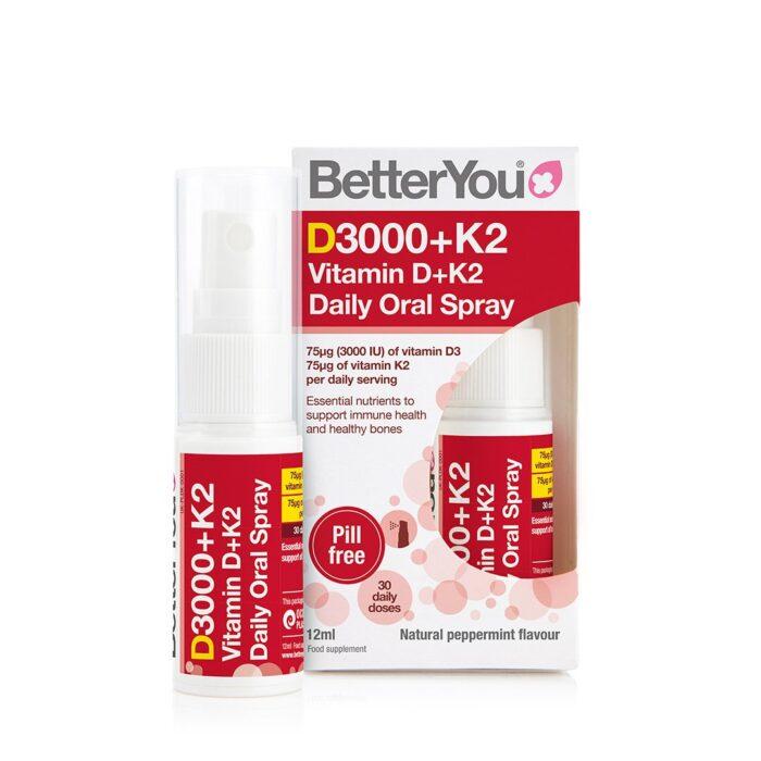 Vitamin D 3000iu + k2